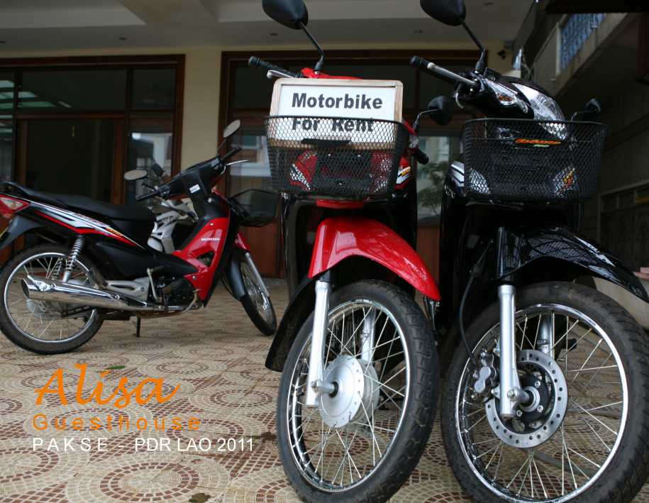 Alisa-guesthouse Motorbike for rent